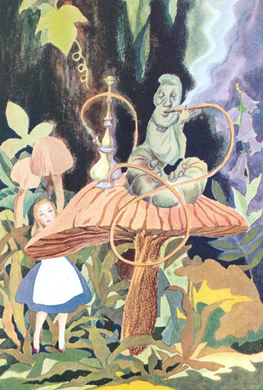 Алиса в стране чудес. Иллюстрации 12