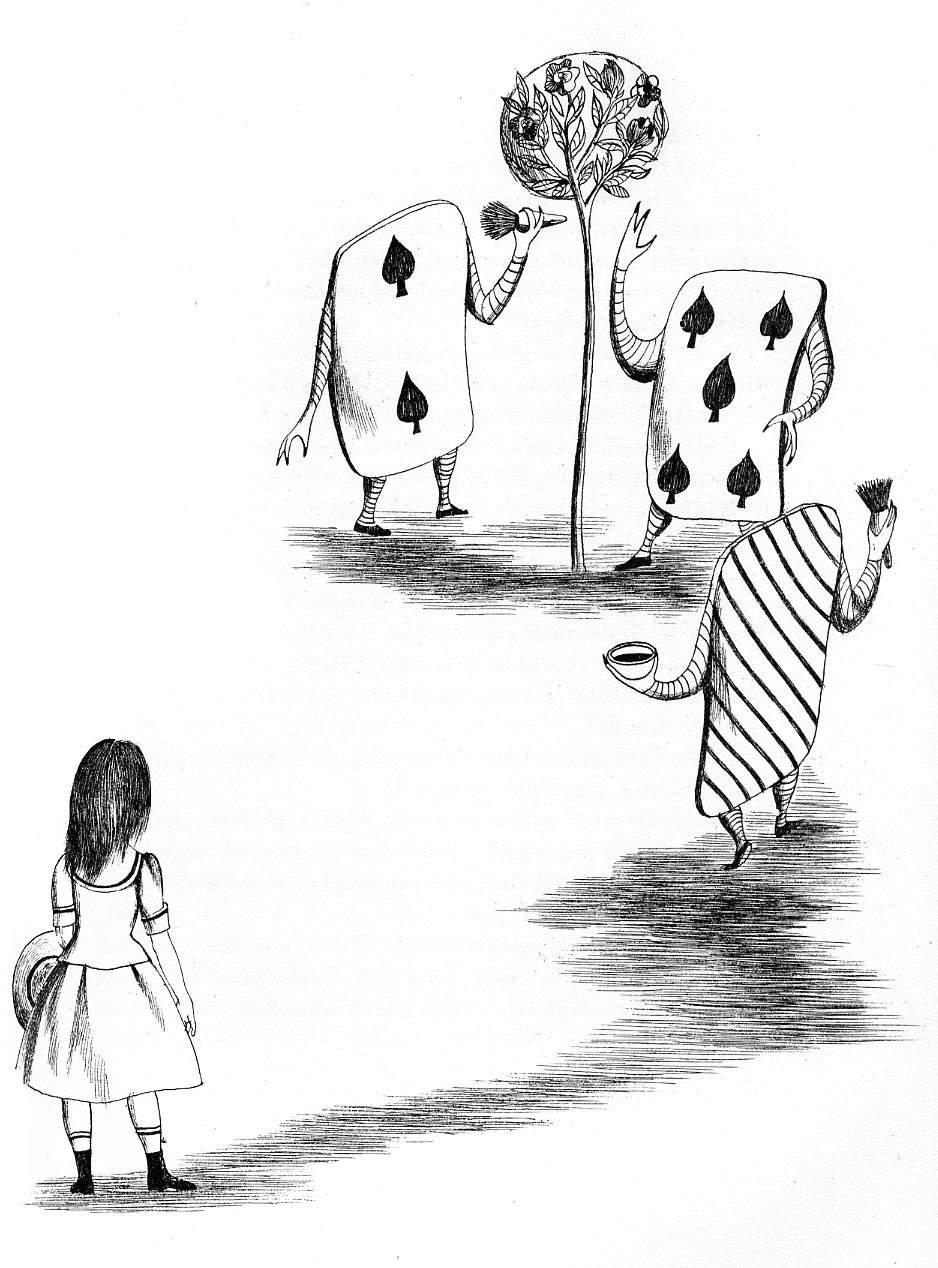 Алиса в стране чудес. Иллюстрации 14