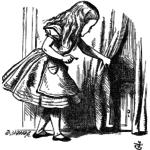Алиса в стране чудес. Иллюстрации, часть 1
