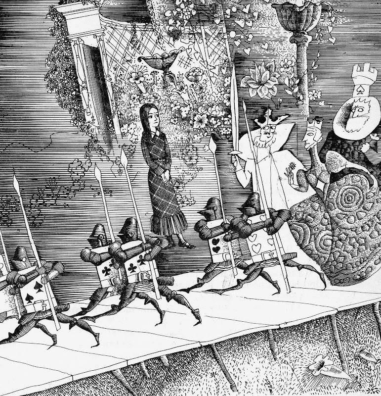 Алиса в стране чудес. Иллюстрации 16