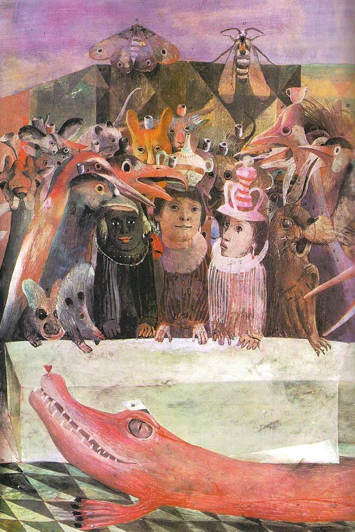 Алиса в стране чудес. Иллюстрации 18