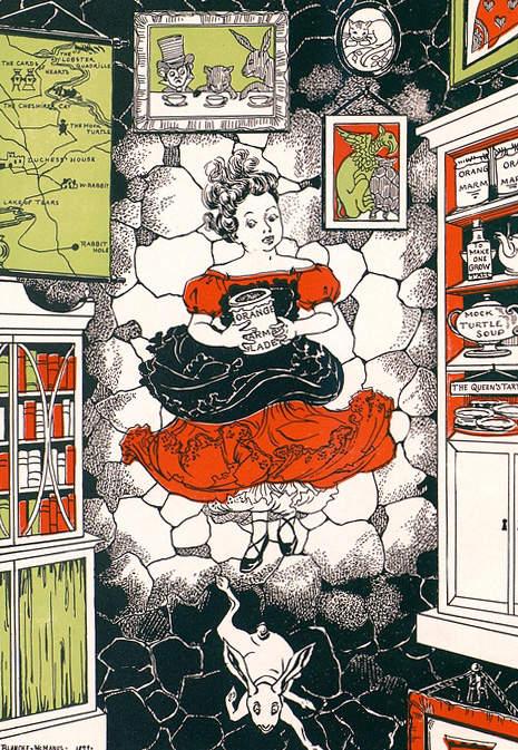 Алиса в стране чудес. Иллюстрации 2