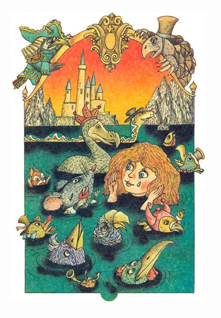 Алиса в стране чудес. Иллюстрации 21