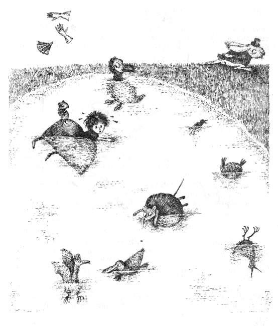 Алиса в стране чудес. Иллюстрации 22