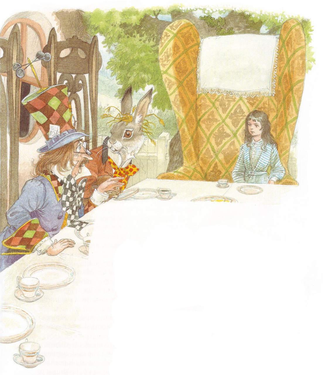 Алиса в стране чудес. Иллюстрации 24
