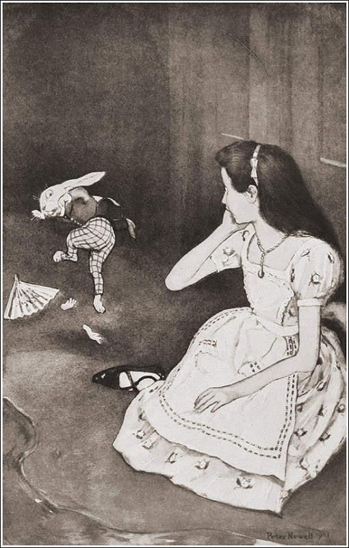 Алиса в стране чудес. Иллюстрации 3