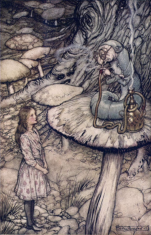 Алиса в стране чудес. Иллюстрации 4