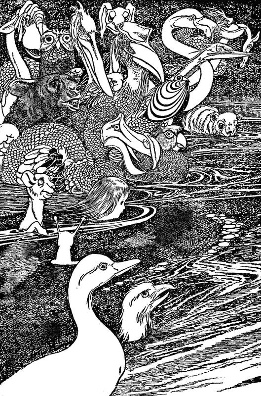 Алиса в стране чудес. Иллюстрации 5