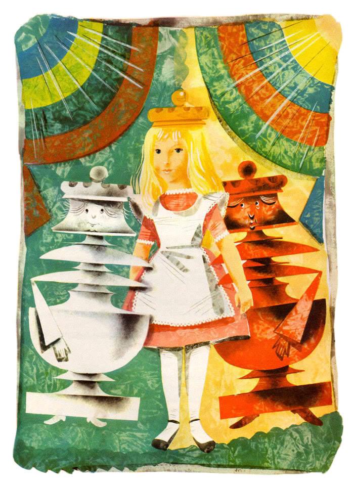 Алиса в стране чудес. Иллюстрации 8