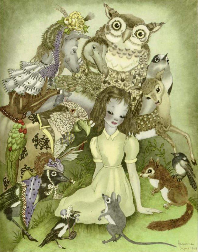 Алиса в стране чудес. Иллюстрации 9