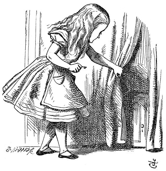 Алиса в стране чудес, иллюстрации Джона Тенниела, 1865