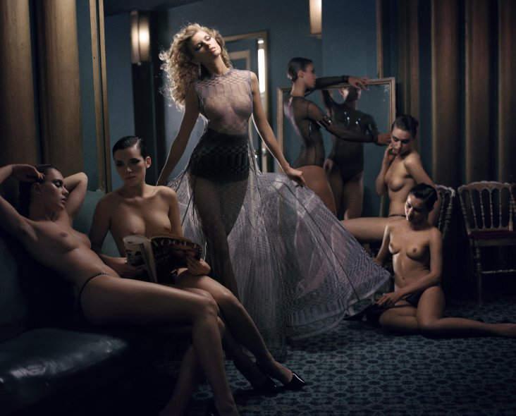 Амбициозный и неповторимый Винсент Петерс (Vincent Peters) Vogue 6