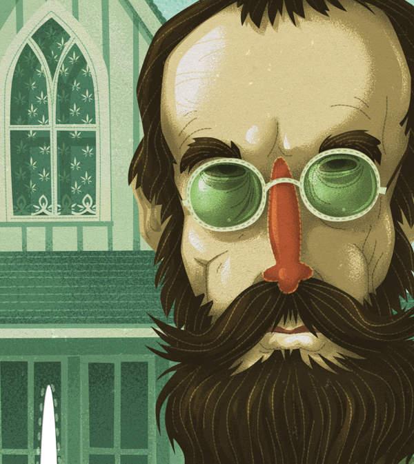 Американская готика от иллюстратора Стива Симпсона (Steve Simpson) 3