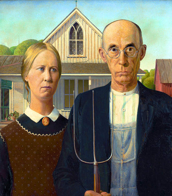 Американская готика от иллюстратора Стива Симпсона (Steve Simpson) 6