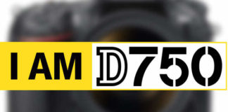 Полнокадровый фотоаппарат Nikon D750