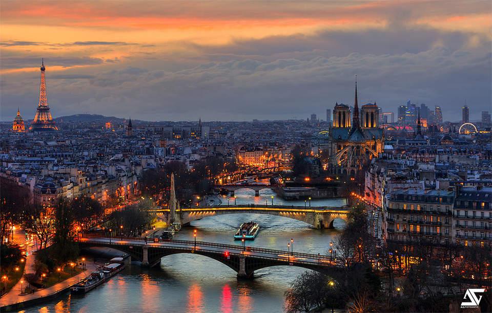 Самые красивые города мира. Париж 5