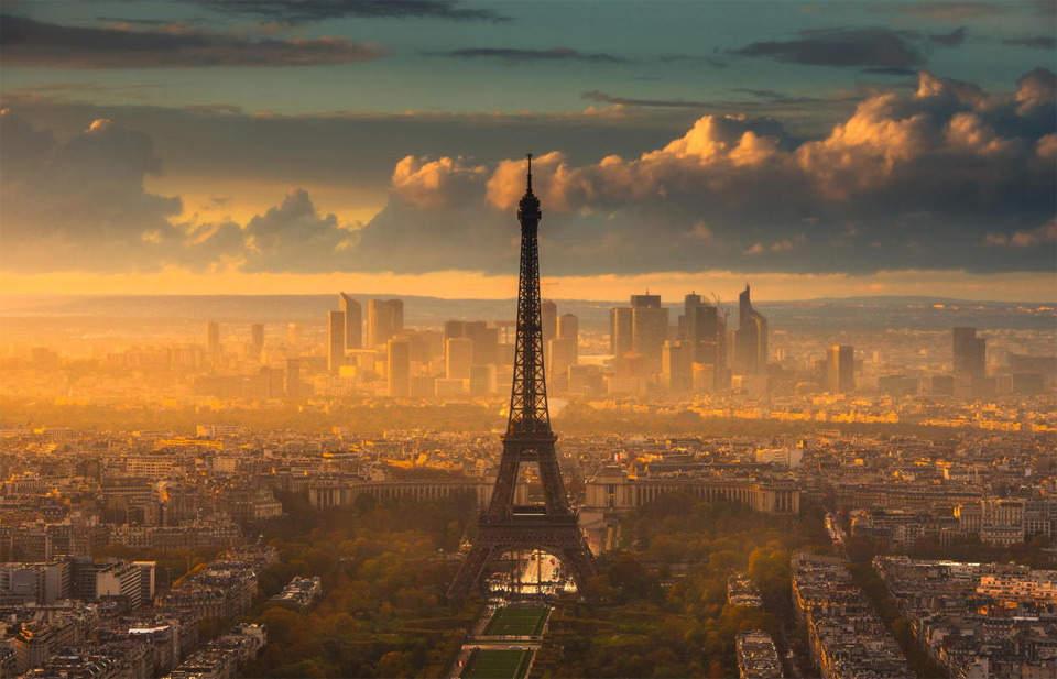 Самые красивые города мира. Париж
