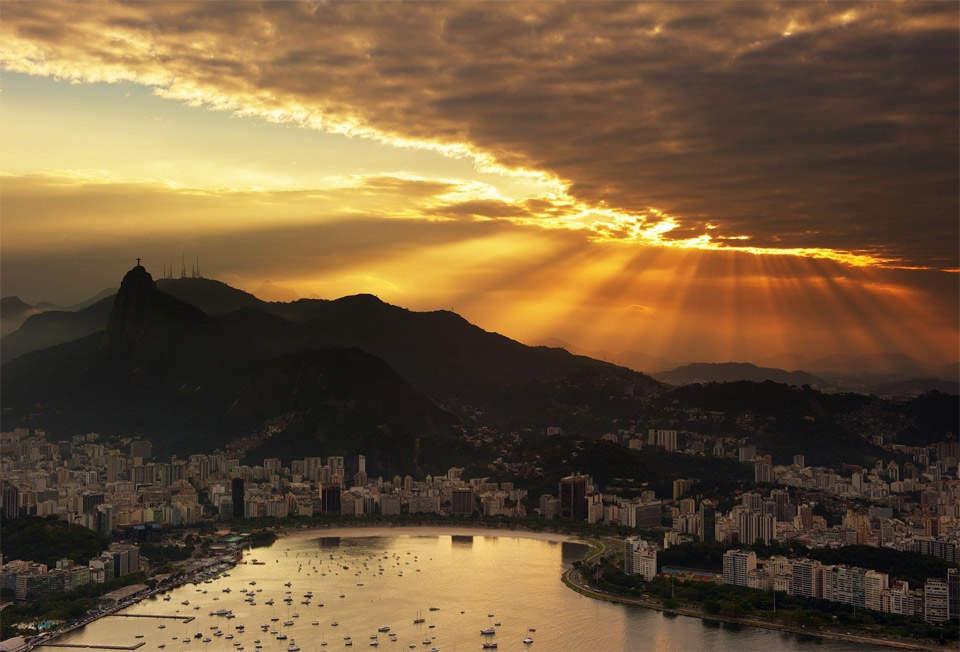 Самые красивые города мира. Рио-де-Жанейро