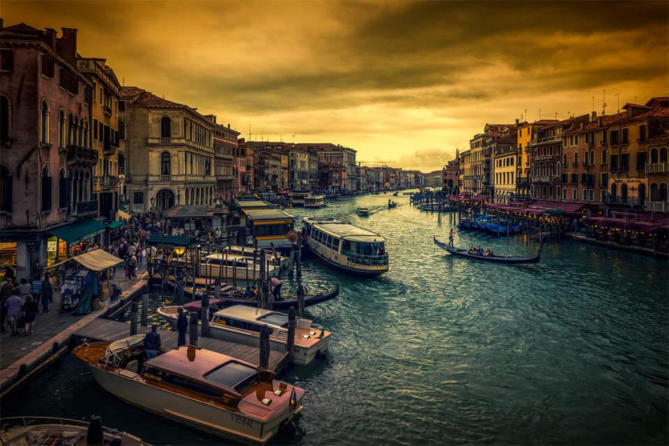 Самые красивые города мира. Венеция 5
