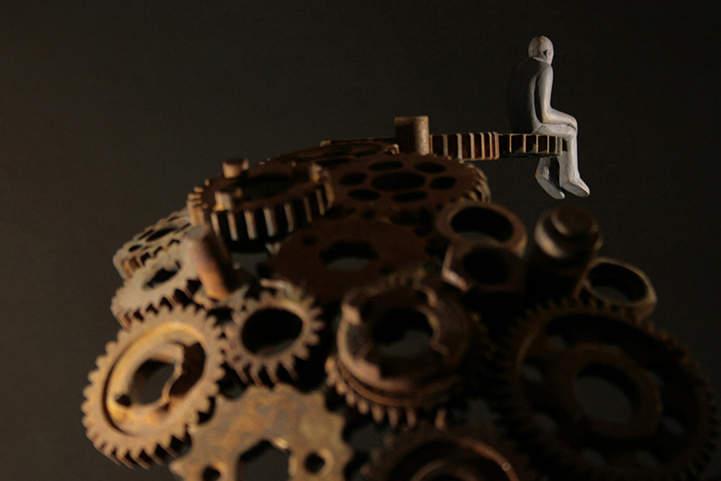Символичные скульптуры Soheyl Bastami