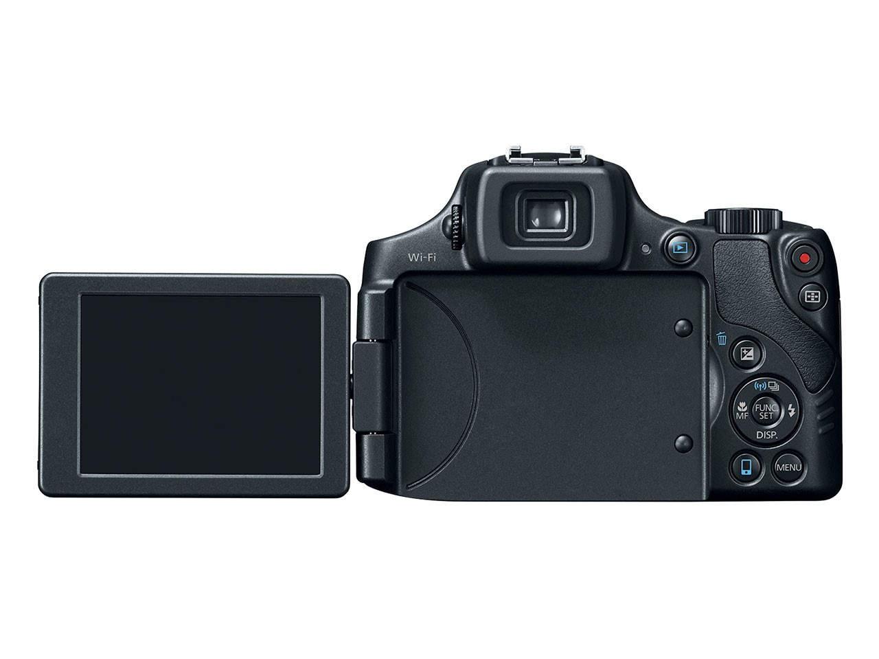 Суперзум Canon PowerShot SX60 HS с 65-кратным зумом 2