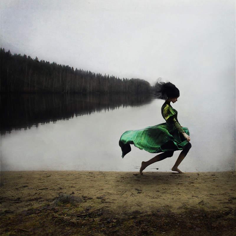 Фотограф и абстрактные фотографии