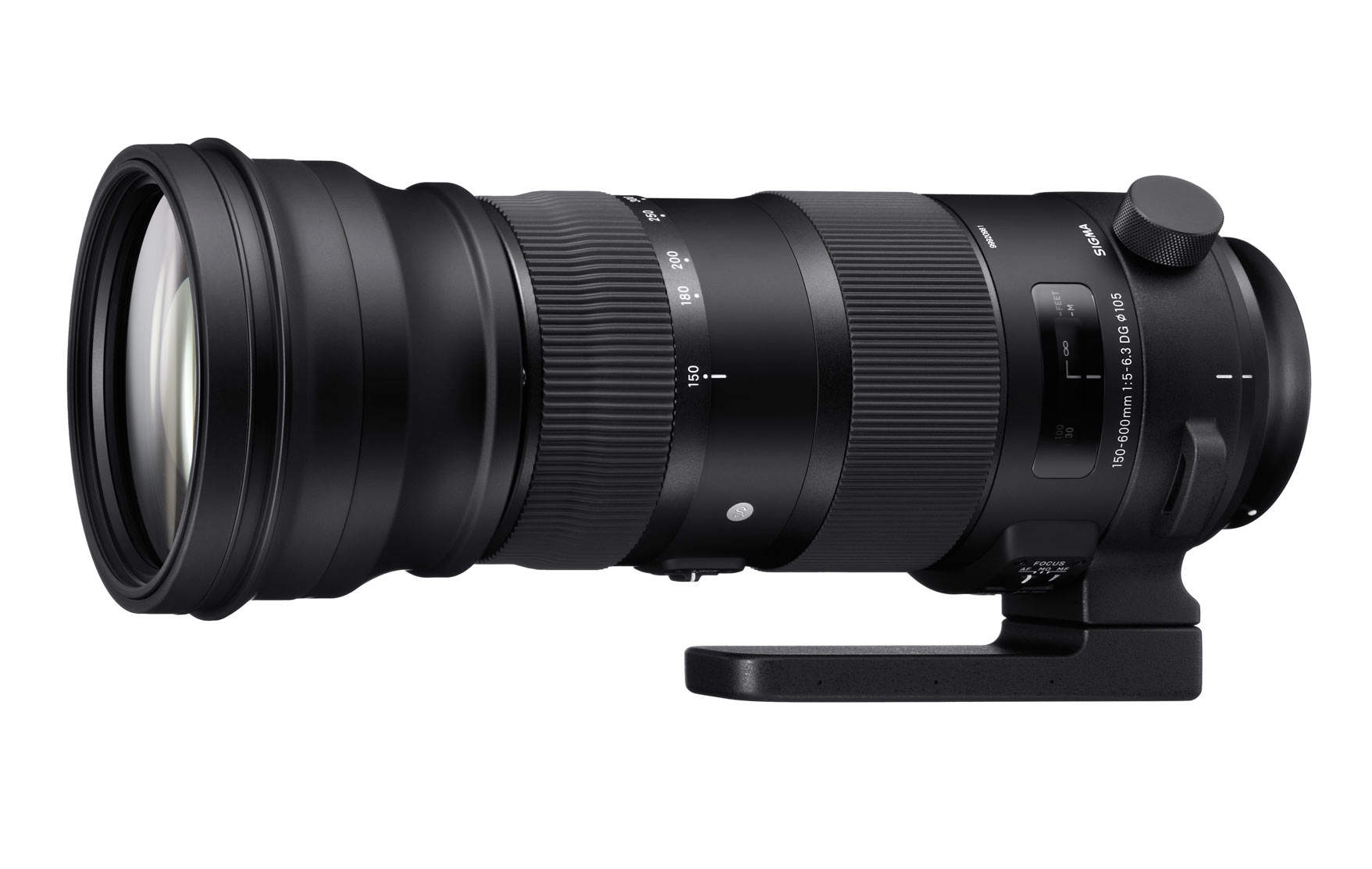 Телескопический объектив Sigma 150-600 мм F5-6.3 DG OS HSM