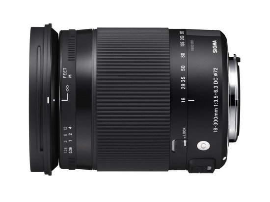 Универсальный объектив Sigma 18-300 мм F3,5-6,3 DC Macro OS HSM C