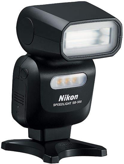Вспышка с светодиодной лампой Speedlight SB-500 от Nikon