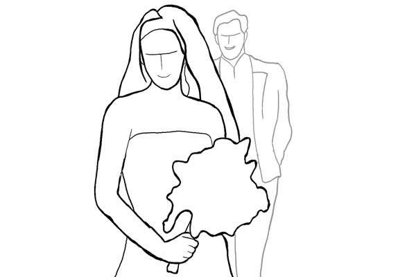 Позы для свадебной фотосессии