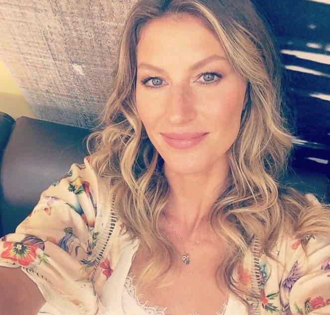 selfie Gisele Bundchen селфи жизель бюндхен без макияжа