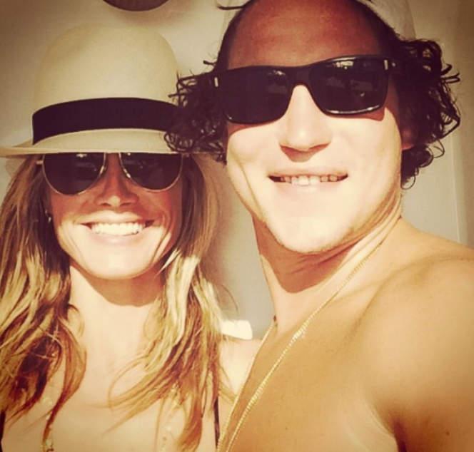 selfie Heidi Klum селфи хайди клум
