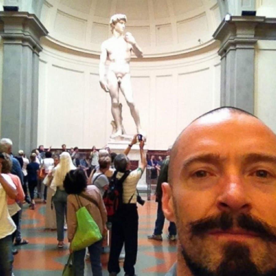 selfie Hugh Jackman селфи хью джекман селфи знаменитостей