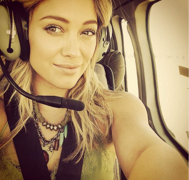 selfie селфи Hilary Duff хилари дафф