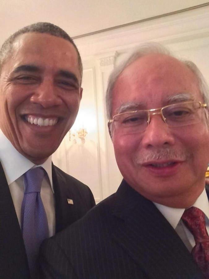 selfie селфи Obama Барак Обама