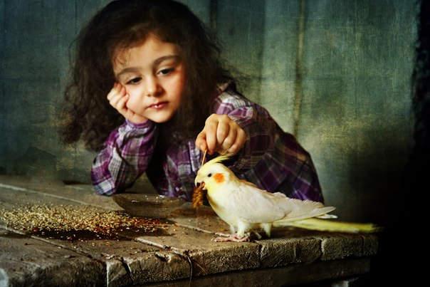 Елена Громова (Elena Gromova) и её трогательные портреты детей 3