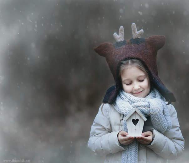 Елена Громова (Elena Gromova) и её трогательные портреты детей 5