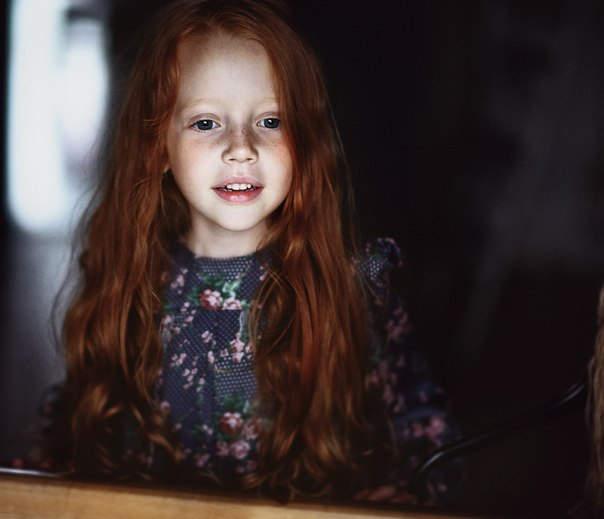 Елена Громова (Elena Gromova) и её трогательные портреты детей 6