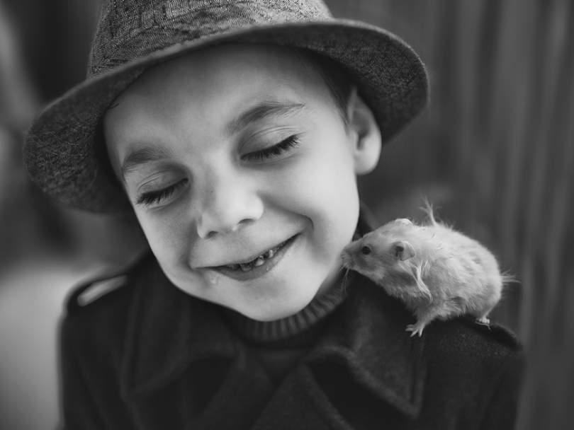 Елена Громова (Elena Gromova) и её трогательные портреты детей 7