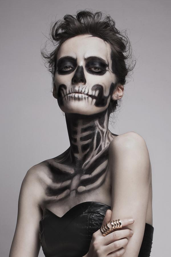 Макияж для Хэллоуина. Примеры образов 8