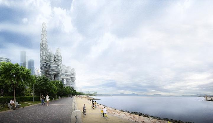 Город будущего, или футуристичный дизайн от Urban Future Organization