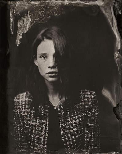 2014 Sundance TIn Type Portraits - Astrid Berges-Frisbey