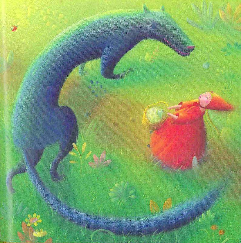 иллюстрация Красная шапочка 10