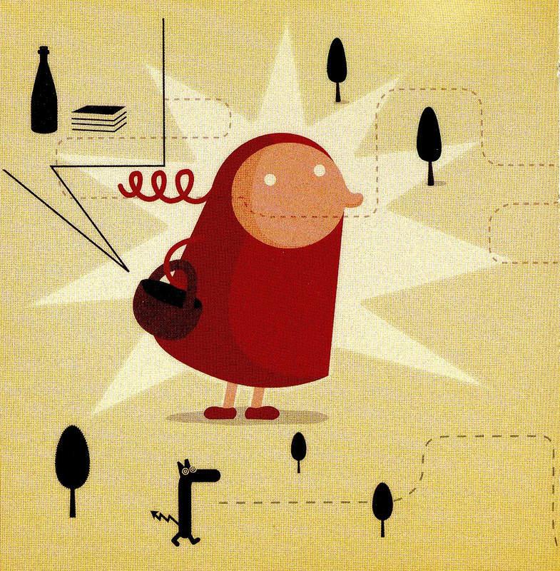 иллюстрация Красная шапочка 11