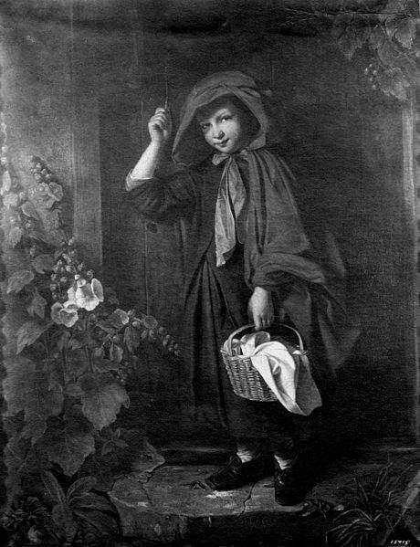 иллюстрация Красная шапочка Джона Томаса Пила, (John Thomas Peele), 1851 год