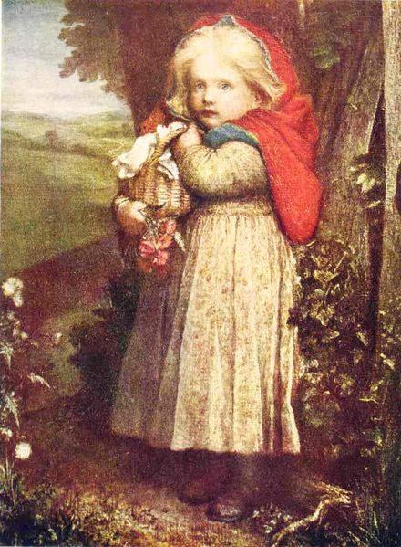 иллюстрация Красная шапочка Томлинсона (Tomlinson), 1880 год 2