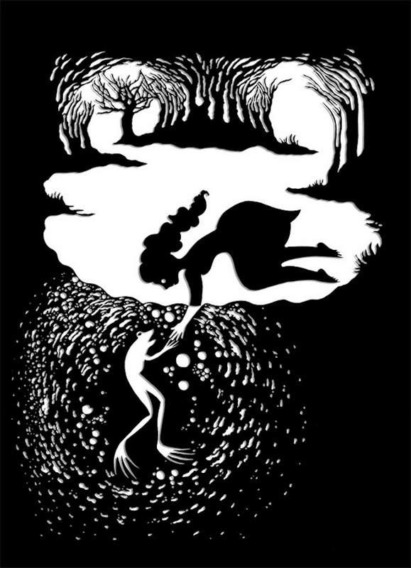 Бумажные иллюстрации Андреа Дезцо (Andrea Dezso)