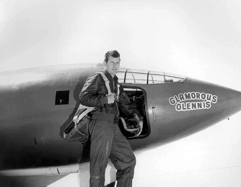 Фотография Чака Йегеря, 1947 год