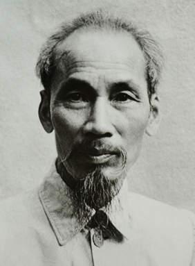 Фотопортрет Хо Ши Мина, 1946 год