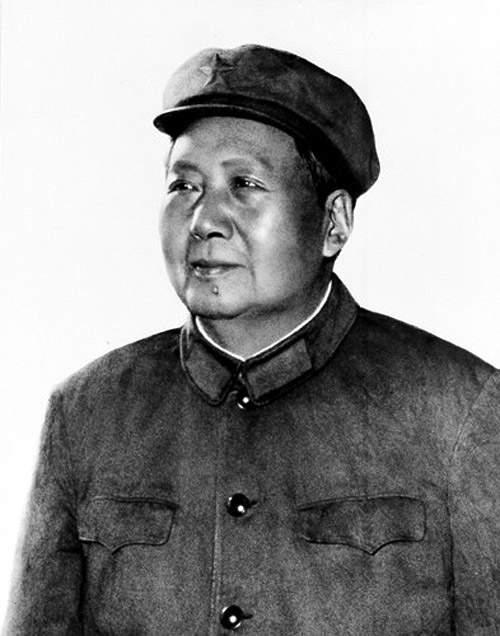 История в фотографиях Фотография Мао Цзэдуна, 1943 год